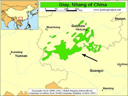Карта ЗЭЙ в Китае